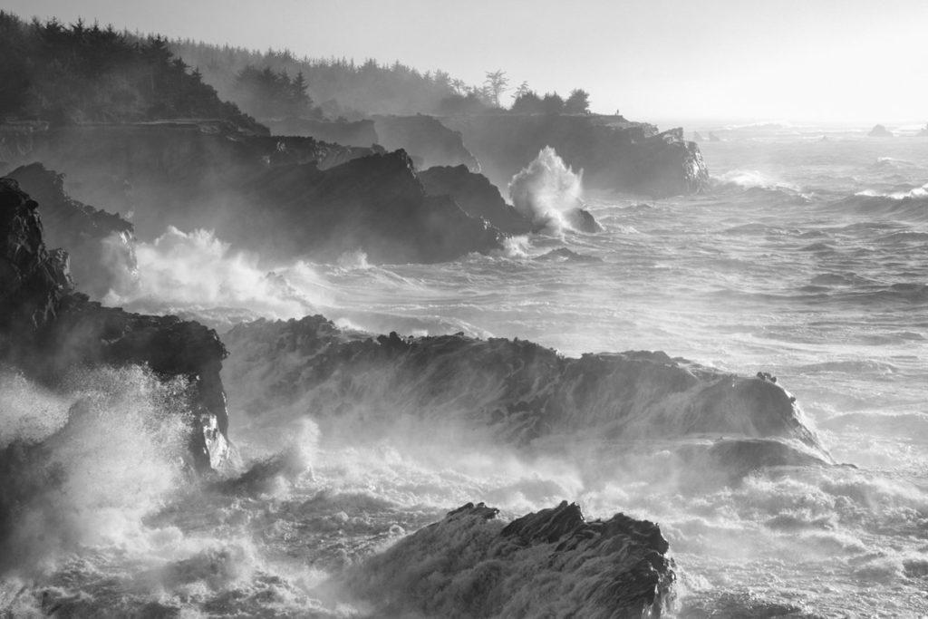 Oregon Coast coastal scene photograph.
